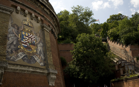 Lift upp till slottet Buda